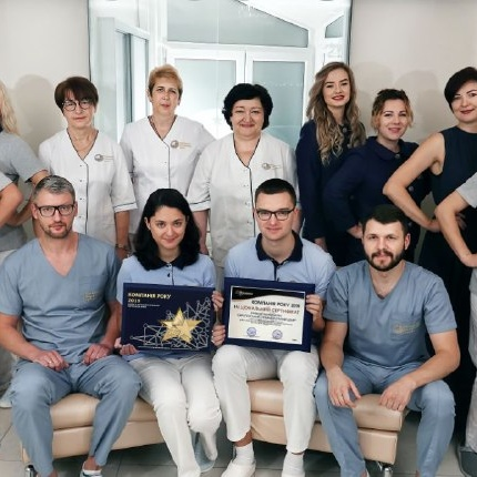 On September 2, 2020 ,, European Dental Center ,,, received the national certificate ,, Company of the Year 2019 ,,