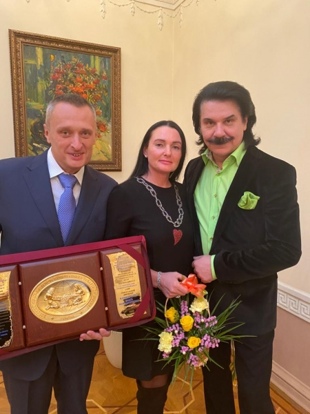On February 27, 2020, at the Mariinsky Palace, the Director of the European Dental Center received an award